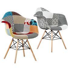 Moda Bañera Patchwork Eiffel Comedor Sillon silla de estilo vintage y retro Estilo Escandinavo