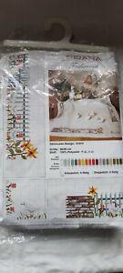 RICO design 90cm tablecloth embroidery kit Anchor thread Geese 61814