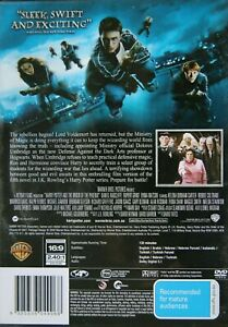 Harry Potter And The Order Of The Phoenix DVD Kids - Action Adventure Family