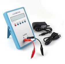 High Precision L/C Inductance Inductor Capacitance Multimeter Meter LC200A Tool