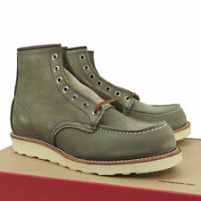 """New!!! Size 9 D - Red Wing 8139 - Classic Moc Suede Sage Mohave 6"""" Boots - USA"""