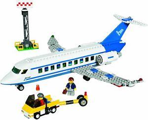 LEGO CITY 3181 -- L'AVION DES PASSAGERS -- SET COMPLET + 2 NOTICES