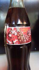 Christmas 1998 COCA-COLA BOTTLE COLLECTIBLE 8OZ.