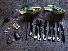 Lot pièce Blade 130x, Canopy BLH3722 , pale, moteur, derive, lipo, plateau RC