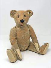 uralter antiker Steiff Vorkriegs Teddy Bär, 43 cm, 5-fach gegliedert, mit Knopf
