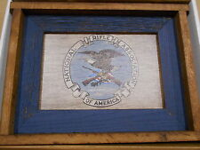 """National Rifle Association  NRA Wood Sign & Hat  18"""" X 13 3/8"""""""