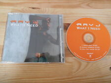 CD Hiphop Ray J - What I Need (3 Song) Promo KNOCKOUT SANCTUARY sc