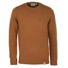 Carhartt WIP jersey de punto todos Sweater hamilton Brown señores jersey de punto