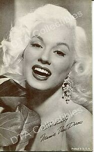 Maimi Van Doren - Pin-Up -1950 Arcade Card G
