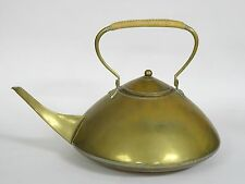 ANTIQUE BRASS JAN EISENLOEFFEL JUGENDSTIL TEA KETTLE