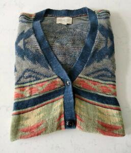 Denim & Supply Ralph Lauren Aztec Navajo Cardigan - Size XL