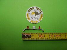 ACCESSOIRES  1/50 BARRE DE TOIT SUPPORT +  2 GYROPHARES 4 mm
