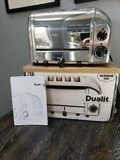 Dualit 4 slice NewGen toaster - Chrome color (47150)