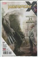 Weapon X #10 H Meets His Maker Marvel Comic 1st Print 2017 NM ships in T-folder