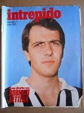 INTREPIDO n°1 1977 Roberto Bettega -    [G361]