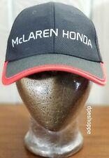 Formula 1 McLaren Honda Racing Fernando Alonso 14 & Stoffel Vandoorne 2 Hat Cap