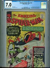 Amazing Spider-Man #14 (Jul 1964, Marvel) CGC 7.0 -1st App. of the Green Goblin