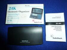 Nos Radio Shack Ec-291 65-743 24K Electronic Organizer Phone Web Site Directory