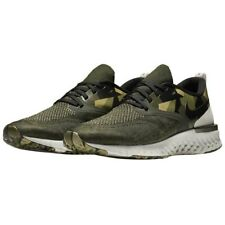 Nike ODYSSEY REACT 2 Flyknit GPX AT9975-302 Men Shoe Green Olive Sz 11.5 Rare