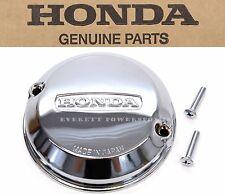 New Genuine Honda Chrome Points Cover w/Gask  CB 350F 400F 500K 550K 550F #Q59