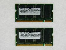 NEW 512MB (2 X 256 MB) MEMORY 32X64 PC2100 266MHZ 2.5V DDR 200 PIN SO DIMM