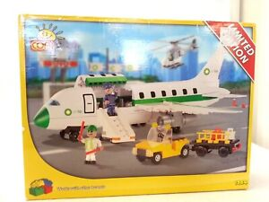 Cobi Limited Edition Set 1984 Construction Toy Blocks Air BP Airplane Used #814