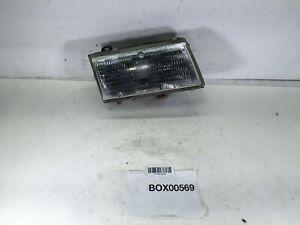 1987 CHEVROLET SPECTRUM FRONT RIGHT PASSENGER HEADLIGHT LENS LAMP HALOGEN OEM+
