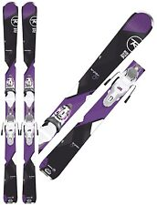 ROSSIGNOL 2017 TEMPTATION 80 168CM WOMEN'S ALL MTN SKIS W/ BINDINGS, NEW