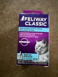Ceva Feliway Plug-in Diffuser Refill for Cats 48ml exp 12/2024