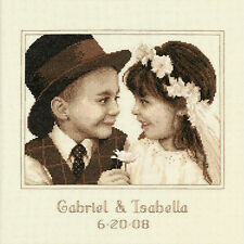 Cross Stitch Kit ~ Dimensions First Love Wedding Record Photo #35192 OOP SALE!