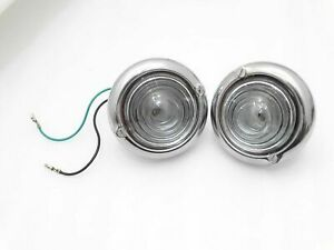 WILLYS FORD JEEP PARKING TURN SIGNAL INDICATOR CLEAR GLASS LIGHT