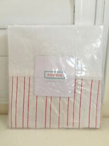 """Auggie Canada Home Collection Baby Crib Bed Skirt Painted Stripe 52x28x16"""" NEW"""
