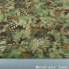 "Mandrake Camouflage Cotton Blend Army Military 60""W Fabric Cloth for uniform"