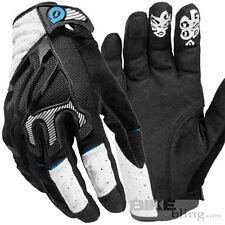 SixSixOne Evo White Gloves Large