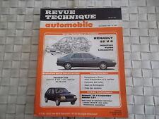 REVUE TECHNIQUE RENAULT 25 V6 INJECTION TURBO LIMOUSINE