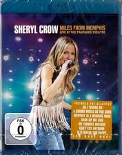 SHERYL CROW: MILES FROM MEMPHIS, Live at the Pantages Theatre (Blu-ray Disc) NEU