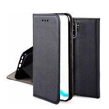 Hülle Samsung Galaxy Note 10 + Plus Mit Deckel Magnet Kartenhalter Buch Side