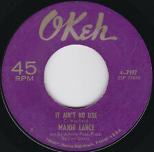 Northern Soul--Major Lance--It Ain't No Use / Girls