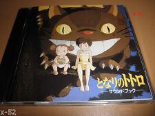 TOTORO soundtrack CD poster JOE HISAISHI score GHIBLI miyazaki CATBUS COVER