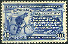 1911 US Stamp #E8 Perf 12 Wmk 190 Mint Special Delivery Catalogue Value $110