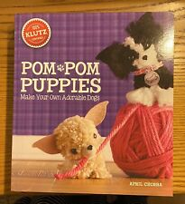 Pom Pom Puppies Klutz Make Your Own Adorable Puppies Kit Keep the kids busy!