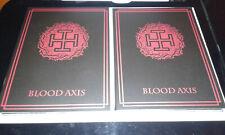 Blood Axis - Live in Kiev, Russia, 30/06/2013  2Cds + Dvd Ltd 20(Death in June)