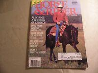 Horse & Rider Magazine / March 1991 / Free Domestic Shipping