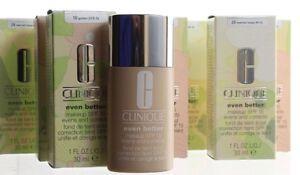 Clinique Even Better Makeup SPF 15 Foundation Full Size NEW Fresh You Choose