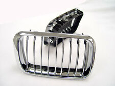 92-96 BMW E36 EURO WIDE SPORT KIDNEY ALL CHROME FRONT GRILL HOOD GRILLE