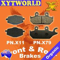 FRONT REAR Brake Pads YAMAHA XT 600 E 1995-96 1997 1998 1999 2000 2001 2002 2003