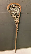 Vintage T S Hattersley's Viktoria England Cranbarry Mass Lacrosse Stick 42 3/4�
