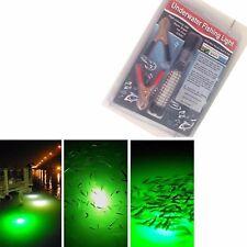 180 LED GReen Underwater Fishing Light 10W 12V Waterproof Squid Prawn Fish Lamp