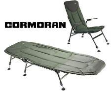 Cormoran Angelliege + Angelstuhl Campingset 6-Bein Liege + Stuhl Karpfenliege
