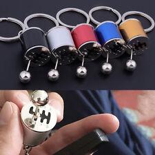 Fob Keyring Car 6 Speed Gearbox Gear Shift Racing Tuning Model Key Chain Ring